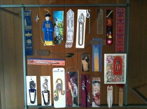 Eine kleine Auswahl meiner Lesezeichen. (c) Petra Gust-Kazakos