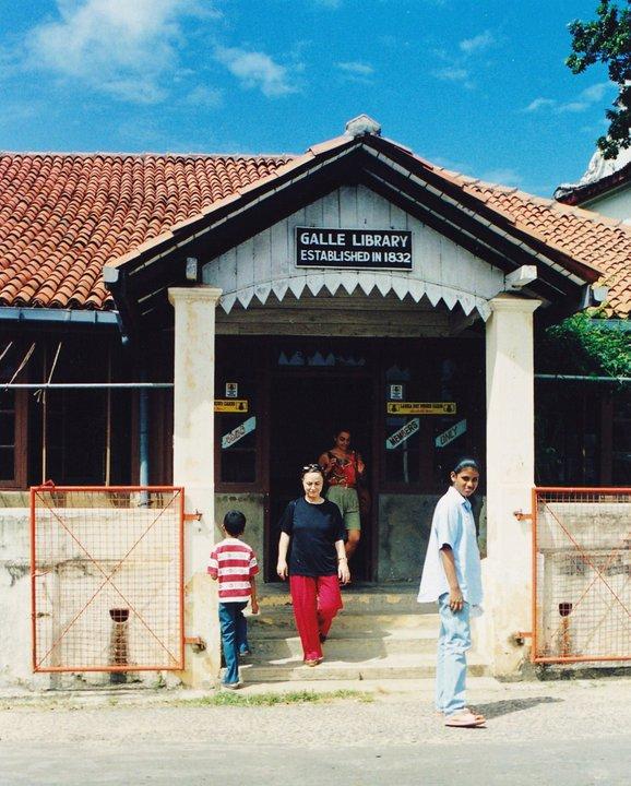 Kleine Bibliothek, Sri Lanka (c) Madalena Reis