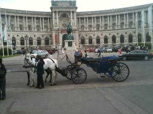 Typischer geht's kaum: Fiaker in Wien