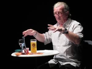 Voller Einsatz in literarischer Mission: Harald Schwiers