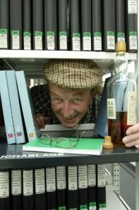 Eine literarische Whiskytour mit Harald macht bestimmt auch Spaß.