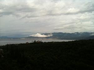 Blick Richtung Kalamata, Foto: (c) Petra Gust-Kazakos