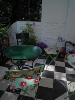 Ein schöner Platz zum Lesen: Beate Sauers Balkon