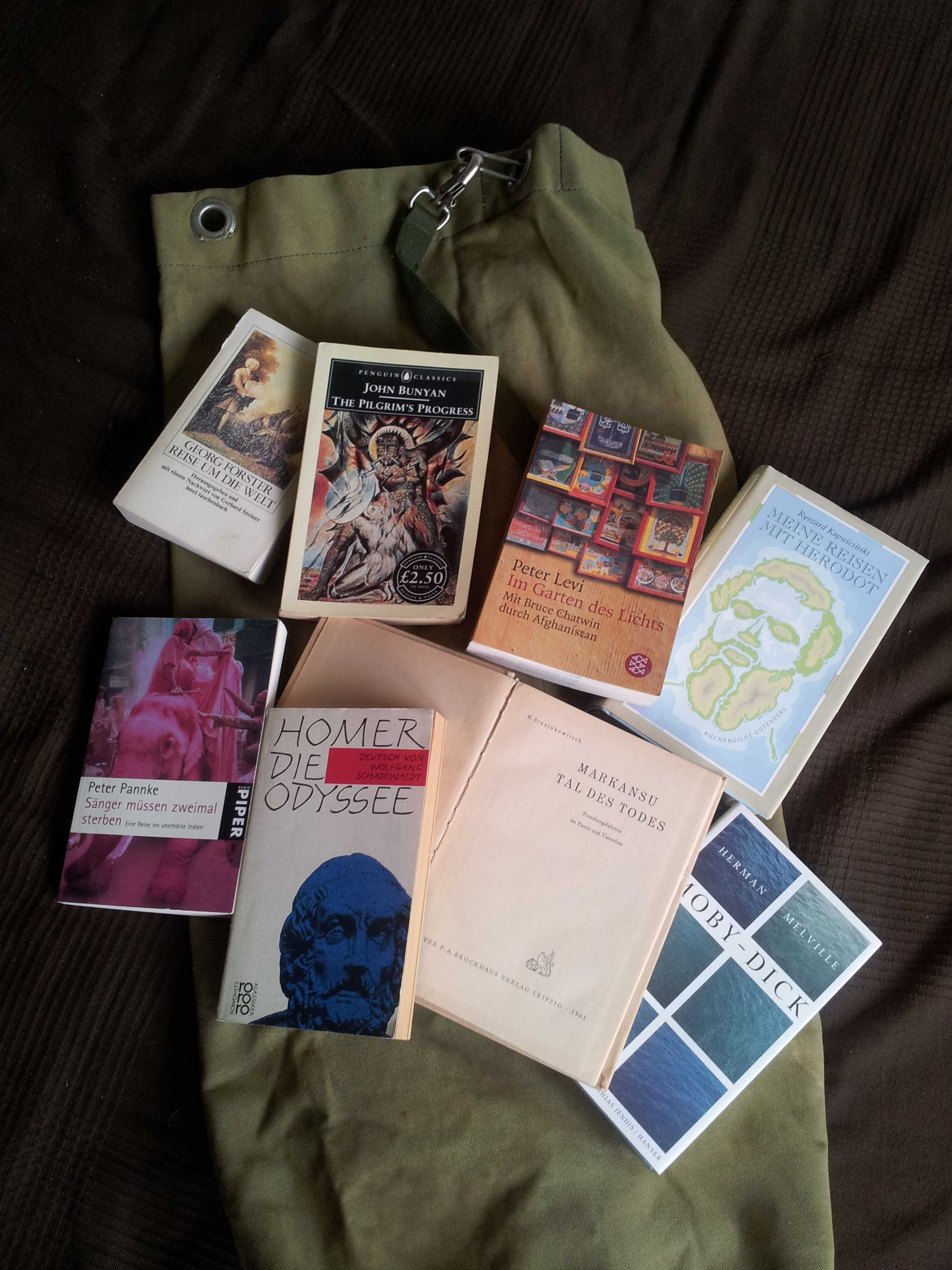 Belmontes Bücherseesack