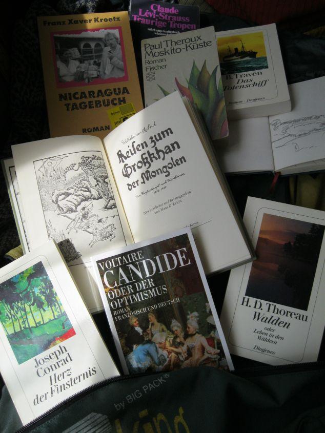 Valentinos Bücherrucksack