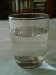 In meinem Wasserglas ist weit und breit kein Sturm zu sehen.