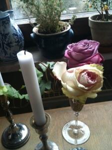 Rosen im Glas, Foto: (c) Petra Gust-Kazakos