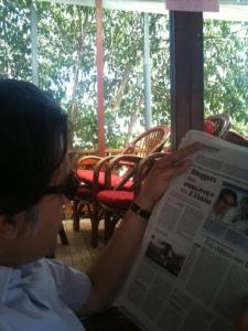 "TO VIMA berichtete über ""Eulen aus Athen"", Foto: (c) Petra Gust-Kazakos"