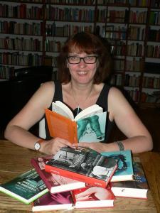 Britta Jürgs im Gespräch mit Petra Gust-Kazakos für Philea's Blog, Foto: © Britta Jürgs