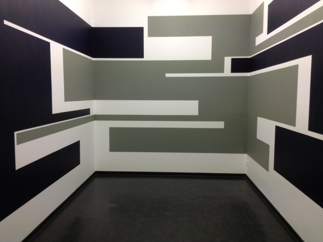 """Stefanie Lampert, """"traverse"""", Studioraum 45cbm, Staatliche Kunsthalle Baden-Baden"""