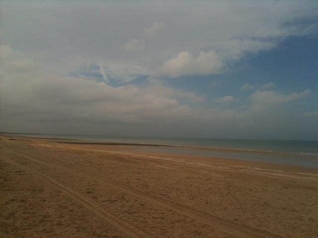 Der Strand von Cabourg