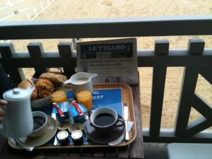 Frühstück mit Aussicht. Foto: © Petra Gust-Kazakos