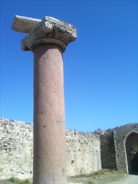 Methoni2_Säule