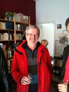 Wolfgang Burger feierte mit bei der Eröffnung von Evas BioBuchLädle